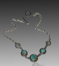 Blue Gem Turquoise REALSTEEL™ jewelry