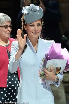 April 20, 2014 - The Duchess of Cambridge attends Easter Sunday Service at St. Andrew's Cathedral in Sydney, Australia  #katemiddleton