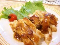 鶏胸肉の生姜焼き♪