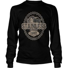 stainless biker shirt born ride road old 1957 - Mens Premium T-Shirt  #gift #ideas #Popular #Everything #Videos #Shop #Animals #pets #Architecture #Art #Cars #motorcycles #Celebrities #DIY #crafts #Design #Education #Entertainment #Food #drink #Gardening #Geek #Hair #beauty #Health #fitness #History #Holidays #events #Home decor #Humor #Illustrations #posters #Kids #parenting #Men #Outdoors #Photography #Products #Quotes #Science #nature #Sports #Tattoos #Technology #Travel #Weddings #Women