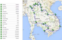 South East Asia Route