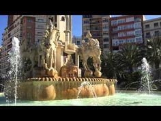 #Vídeo Plaza de Los Luceros de #Alicante  #CostaBlanca