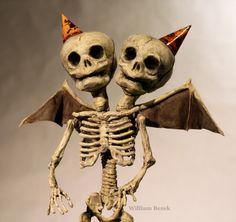 Siamese Skeleton by William Bezek