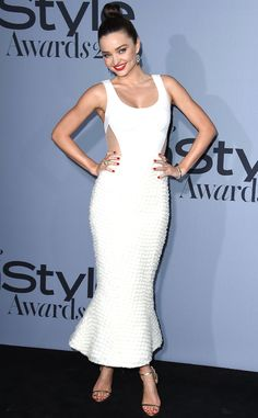 Miranda Kerr from Stars at the 2015 InStyle Awards | E! Online