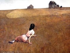 The mysterious illness of a woman depicted in Andrew Wyeth's famous painting Christina's World have been solved by a neurologist. Professor Marc Patterson, of the Mayo Clinic in Rochester believes she is suffering fromCharcot-Marie-Tooth disease - an inherited condition affecting the nerves and movement