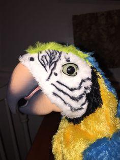 FurReal SQUAWKERS Talking Parrot BIRD ONLY Hasbro HTF 2007 #Hasbro