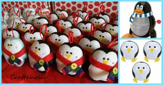 penguin party ideas: activities and favors