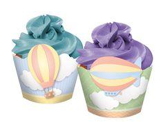 Cupcake Wrapper Linha Nuvem - Regina Festas