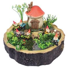 Tiny Forest Friends Gnome Fairy Garden