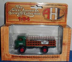 AHL Hartoy Die Cast JACKSON BREWERY CO JAX Stake GMC T70 Delivery Truck 1/64 D10 #AHL #GMCT70