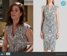 Ted Baker Sancha Dress worn by Ana Ortiz on Devious Maids