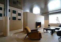 Art Deco Minimalism apartment in Manhattan designed by Ghiora Aharoni Design Studio - CAANdesign Minimalist Apartment, Minimalist Home Decor, Luxury Interior, Interior Architecture, Design Studio, House Design, Studio Art, Built In Furniture, Bespoke Furniture