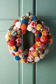 Anthropologie& Holiday Collection is Here - Anthropologie Christmas Decor Christmas Home, Christmas Crafts, Christmas Decorations, Christmas Ornaments, Holiday Decorating, Apartment Christmas, Pom Pom Decorations, Christmas Cookies, Christmas Trends