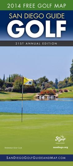 The new 2014 San Diego Golf Guide is out! #SanDiego #Golf #Travel #Brochure