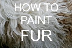 How to paint FUR Acrylic tutorial #bigartquest #18 More