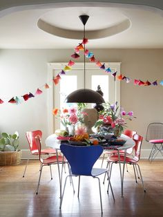 An Easter Table in Blooming Color - Decorating - Lonny