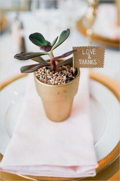 wedding favor idea; photo: Barrie Anne Photography