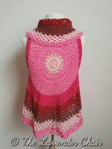 Pocket Full of Posies Vest - Free Crochet Pattern - The Lavender Chair 1