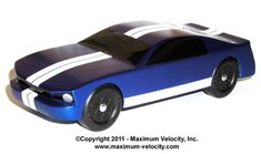 Stallion Pinewood Derby Car