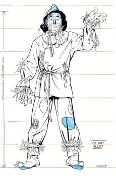 SCARECROW MUGSHOT by Jerome-K-Moore