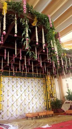 Engagement mandap