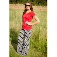 HOUR GLASS LILLY-Hex Black Pants  Could these be more comfortable AND on trend?