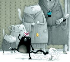Beautiful illustrations by Rob Scotton