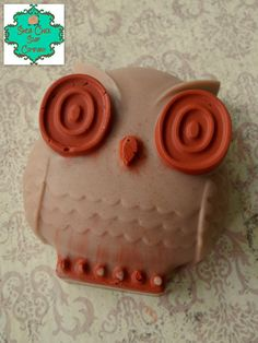 Owl Soap Bar  Choose your scent  Fall Soap by SheaChickSoapCo
