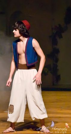 Aladdin costume with white shirt underneath.  sc 1 st  Pinterest : aladdin costume  - Germanpascual.Com