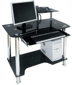 adorable small computer desk for your office needs elegan look small computer desk jillyshappyhome adorable small black computer