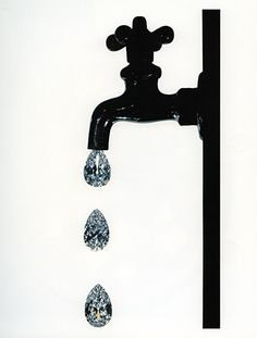 Diamond Droplets <3 Wish these came out of my bathroom sink