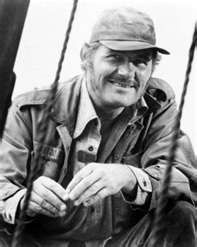 """Captain Quint, Jaws- """"I entered an arm wrestling tournament.... now, you see this arm, Mr. Hooper? I can't extend it anymore, because I made it to the semifinals and this big Chinaman took me riiiiiiiiiiight over....."""""""