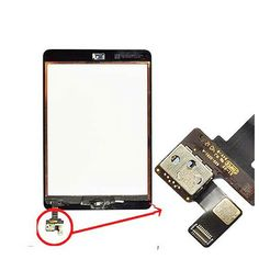 For Apple iPad Mini Touch Display Assembly with Touchpad Black Colour