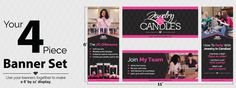 Jewelry In Candles & Vistaprint Printed Products