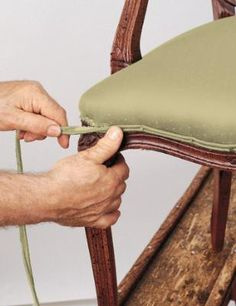 Restoring/reupholstering antique chairs