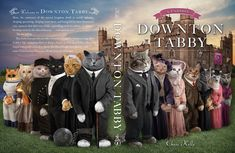 A new book being released in December by Chris Kelly features the Grimalkin family, England's oldest and finest family of cats in people clothes. BuzzFeed has the exclusive reveal of the book's cover because of course we do.