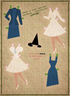 wicked paper doll 2 | paper dolls by cory