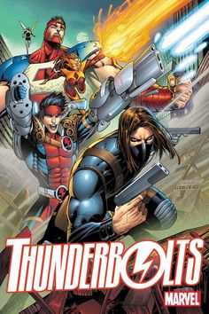 Marvel anuncia oficialmente nova equipe dos Thunderbolts! - Legião dos Heróis