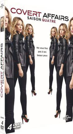 Covert Affairs - Saison 4 | SERIE TV | DVD - NEUF