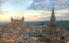 Travel by bike to get to know Madrid, Segovia, and Toledo with accommodation in Paradores with Bike Spain Tours. Take advantage of our bike rental and enjoy the cycle tourism in Spain Mexico Places To Visit, Places In Spain, Cool Places To Visit, Jamaica Travel, Belize Travel, Jamaica Honeymoon, Jamaica Wedding, Equador Quito, Inexpensive Vacations