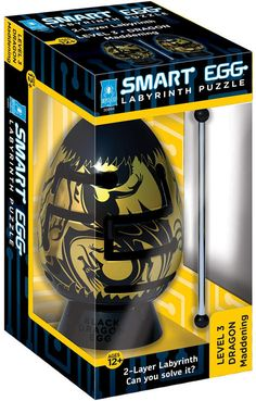 Test your abilities with this challenging BePuzzled Smart Egg Maddening Black Dragon Labyrinth Puzzle. Puzzle Games For Kids, Puzzles For Kids, Dragon Games, Adventure Games, Puzzle Books, Black Dragon, Adult Games, Brain Teasers, Toys For Boys