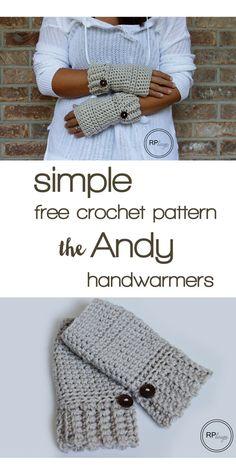 Crochet Hand Warmers - Tutorial  ❥ 4U hilariafina  http://www.pinterest.com/hilariafina/