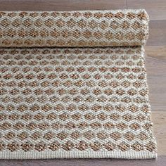 I love how this jute dot rug looks but it might be too rough, $39-399. I might need to run by west elm and take a look.