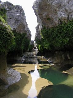 The Narrows in the Texas Hill Country