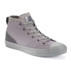 Men's Converse Chuck Taylor All Star Syde Street Mid Shoes, Size: 11, Light Grey