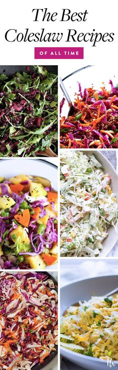 15 Surprisingly Amazing Coleslaw Recipes That Will Be the Star of the Picnic #coleslaw #coleslawrecipes #picnicrecipes