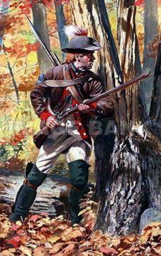 Morgans Riflemen - American Revolutionary War