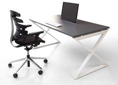 Stelaż biurka iksowy, Furniko Pluris