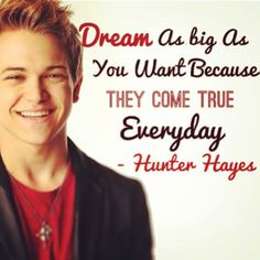 Hunter Hayes on dreaming