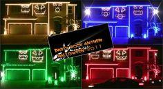 Halloween Music & Light Show